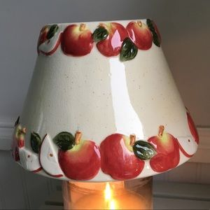 Yankee Candle Large Jar Apple Candle Topper Shade